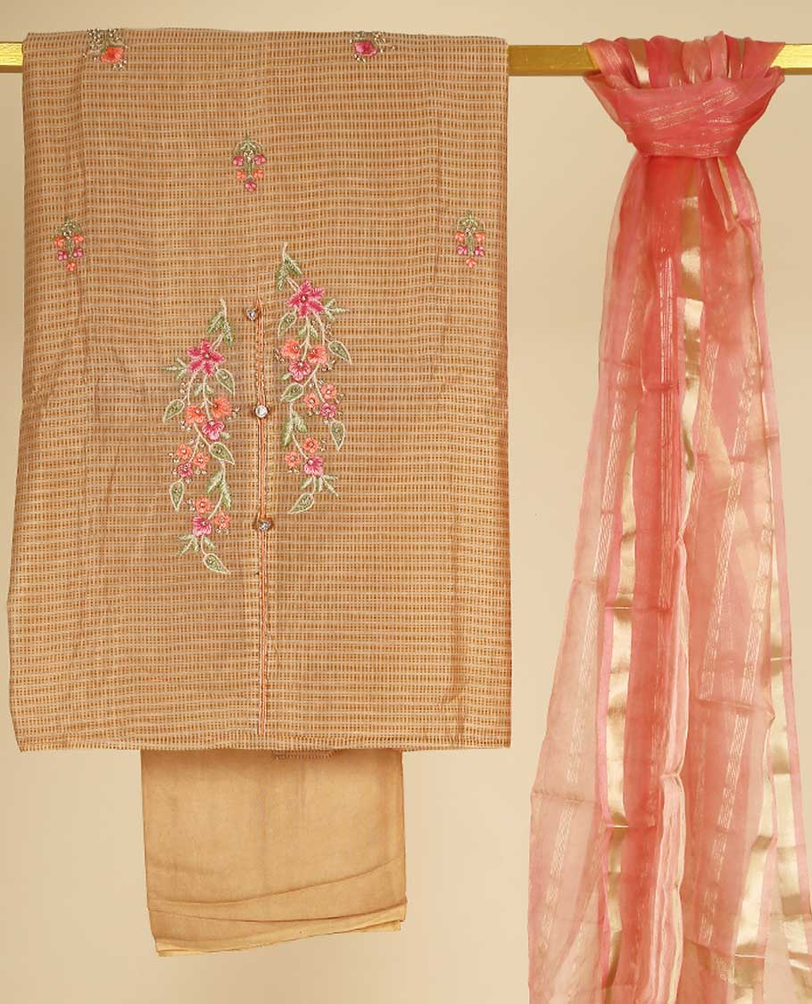 Cotton Semistitched Material UCMA005