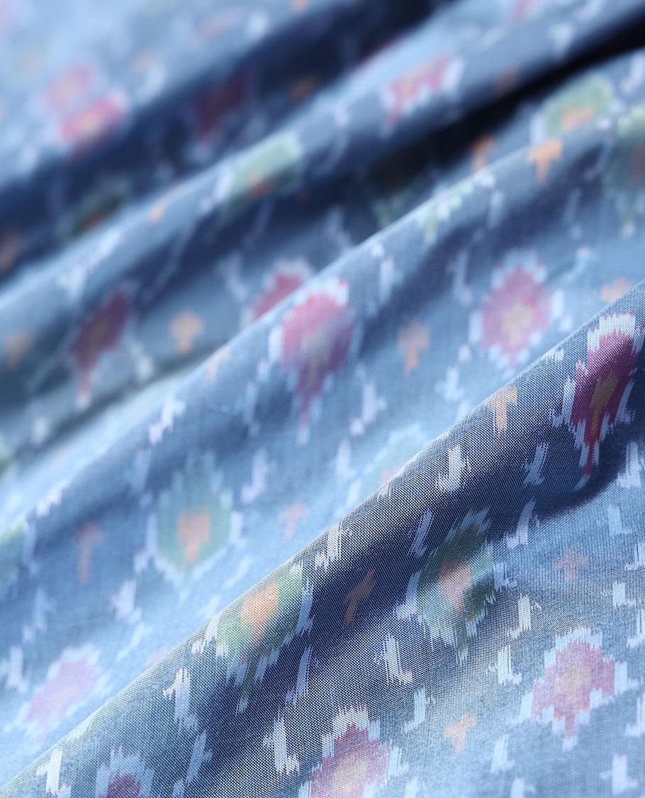 Ikkat Silk Multi Use Material MUMN240