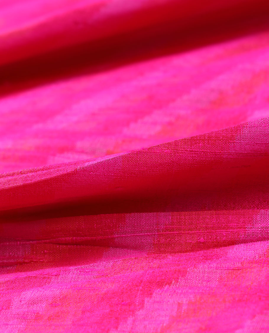Ikkat Silk Multi Use Material MUMN258