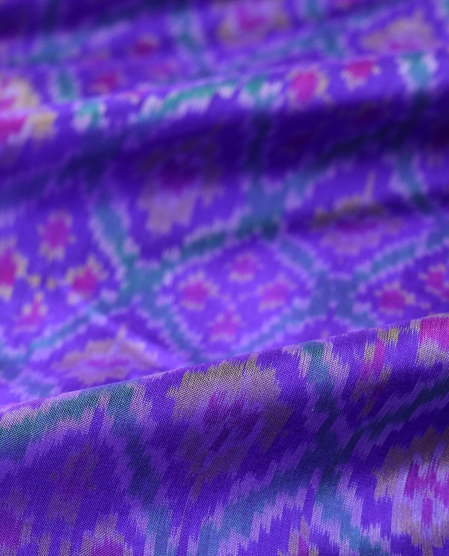 Ikkat Silk Multi Use Material MUMN268