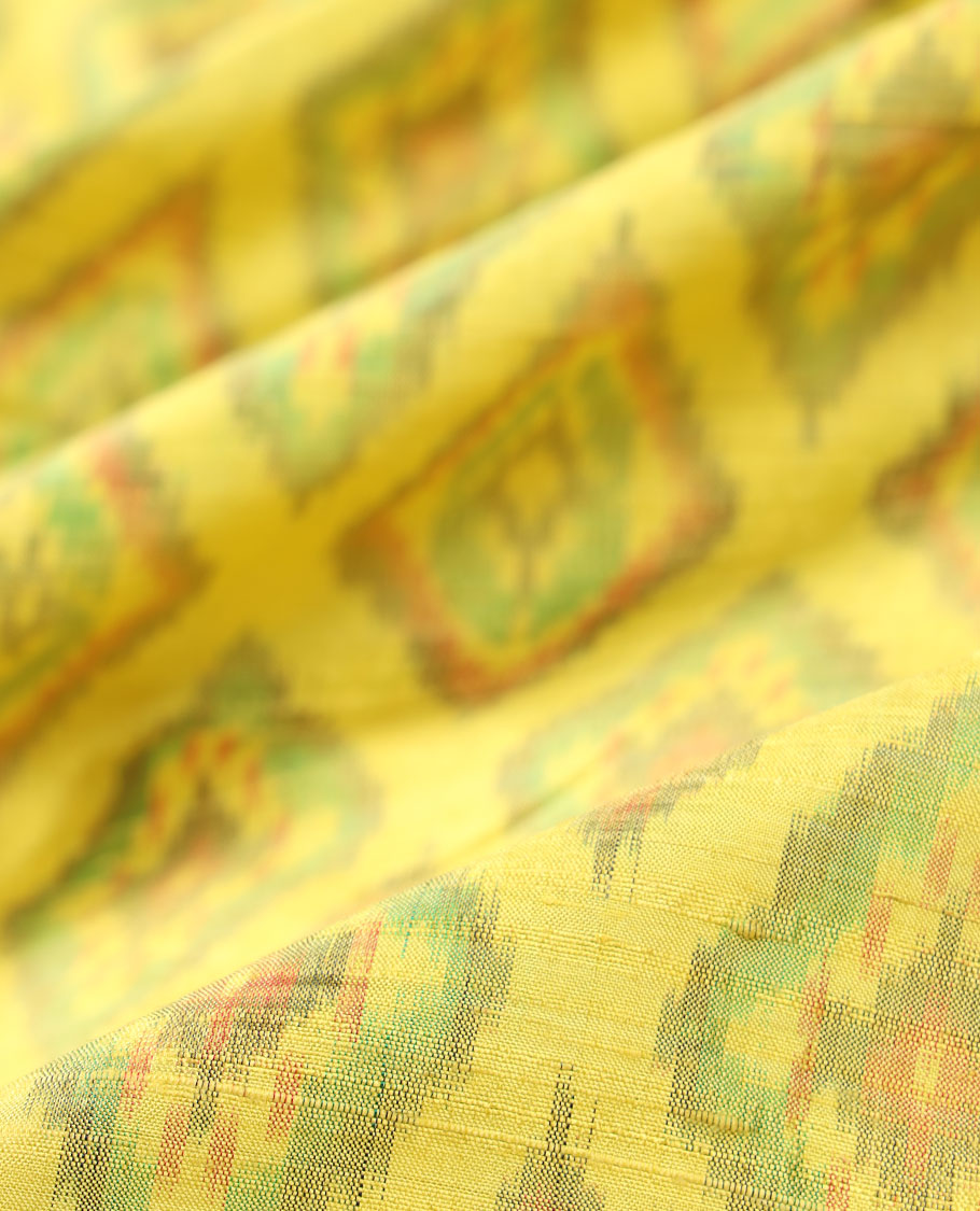 Ikkat Silk Multi Use Material MUMN271