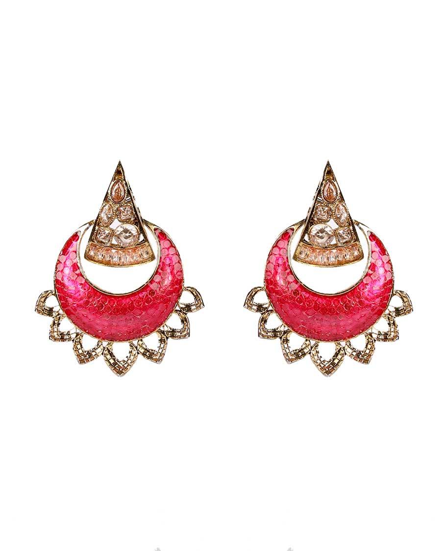 Stone Ear Rings