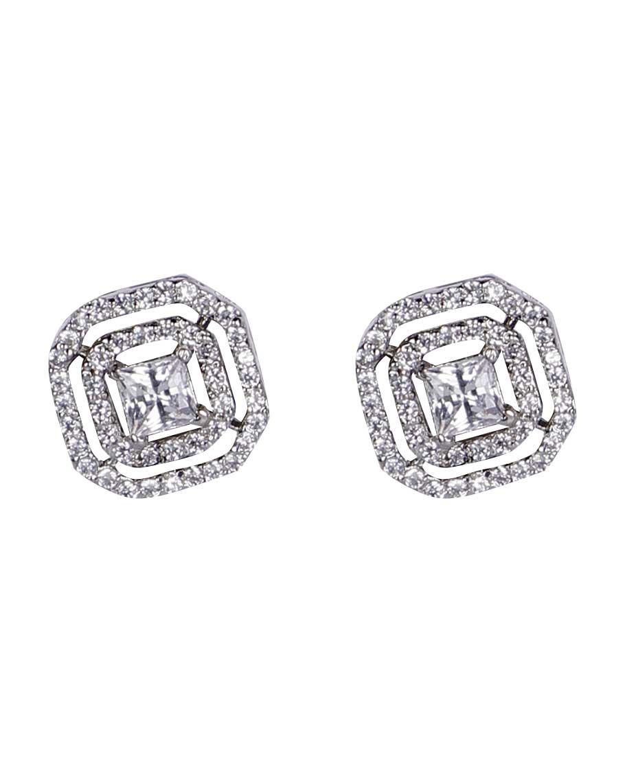 Swarovski stud earrings