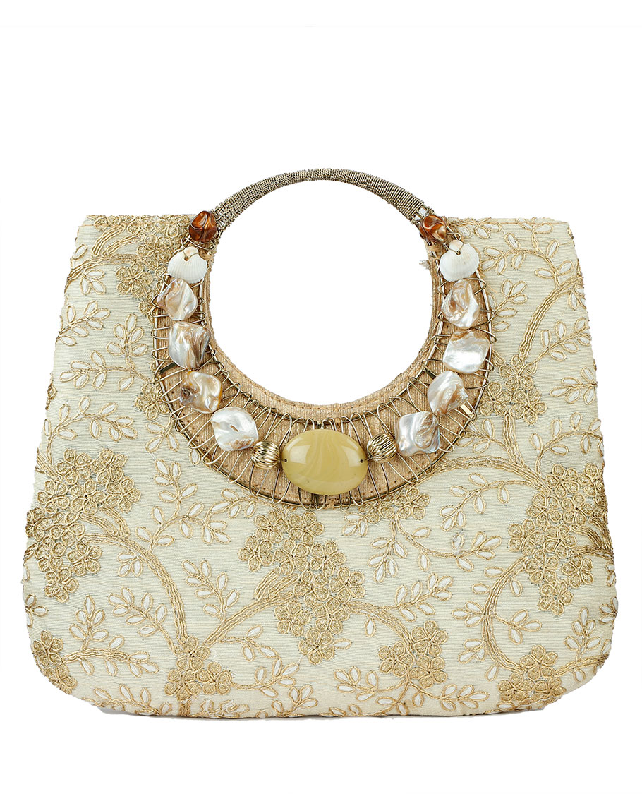 Cream Hand Bag